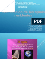 clasificación de las aguas residuales