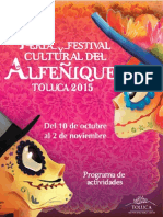 Programa del Alfeñique 2015