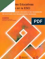 Guía para la respuesta educativa a las necesidades del alumnado de ESO con discapacidad psíquica