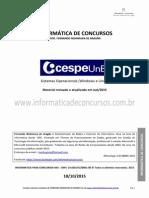 CESPE 2015 - Sistemas Operacionais Windows e Linux - www.informaticadeconcursos.com.br