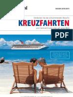 Kreuzfahrten von Carnival Cruise Lines - Schweiz - auf einen Blick - SAISON 2010/2011