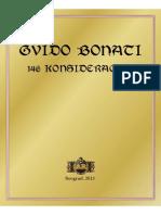 Gvido Bonati - 146 Konsideracija
