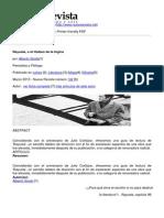 Nueva Revista - Rayuela o El Titubeo de La Logica