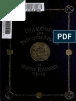 TRATADO PIEDRAS PRECIOSAS Diamonds and Precious Stones Harry Emanuel 1873