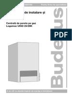 Carte Tehnica Buderus Logamax u052!24!28 Kw Instalare Intretinere