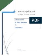 GGT Internship Report