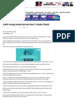Latih Orang Muda Ternak Ikan _ Harian Metro