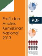Analisis Kemiskinan Nasional 2013