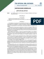 LO 410, 20 Mayo, Regimen Disciplinario CNP