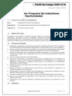 Gestor Familiar Programa EJE_Regional
