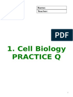 1 Cell Biology