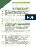 q. Inorganica minerales y funciones