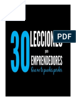 30 lecciones