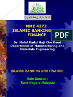 Islamic Banking and Finance