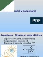 Capacitancia y Capacitores
