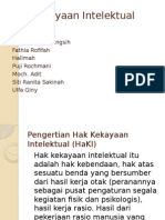Hak Kekayaan Intelektual (HKI) Kelompok