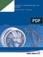 Catalogo de Ventiladores Para La Refrigeración de Transformadores
