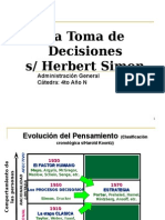 Clase 2- La Toma de Decisiones Simon