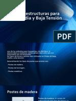 Tipos de Estructuras Para Alta, Media y Alta Tension 1