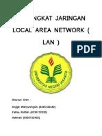 Perangkat Jaringan Local Area Network