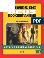 Coleção Fábulas Bíblicas Volume 7 - Crimes de Deus e Do Cristianismo