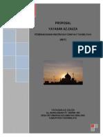 Proposal Pembangunan Madrasah Diniyah Takmiliyah