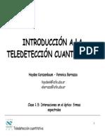 Introducción a La Teledetección Cuantitativa