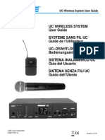 Shure UC Wireless Microphone User Guide