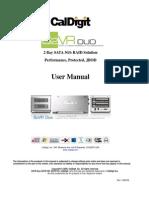 CalDigit S2VR Duo Manual