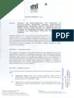 DAO 2-2007. Responsibilities of Manufacturers
