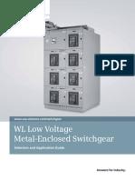 Siemens WL LV Switchgear