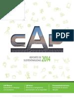 Cap Reporte Sustentabilidad 2014