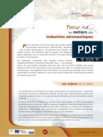Focus Sur Les Metiers Des Industries Aeronautiques PDF