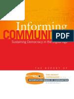 Informing Communities