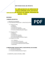 memoria Descriptiva y Resumen Especificaciones
