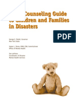 (Psychology) Crisis Counseling Guide to Children and Families in Disasters