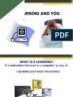 What is e Learning_pressleym_week 1
