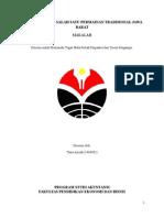Makalah Permainan Tradisional- Beklen/ Bekles/ Bekel- Tsara Azizah (1404902)