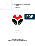 Makalah Permainan Tradisional Jawa Barat-  Beklen/ Bekles/ Bekel- Tsara Azizah (1404902)