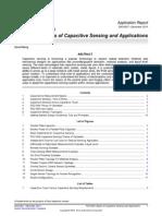 Basics of Capacitive Sensing