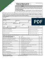 431055-ACA Form 020 Report of Medical History