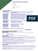 BSOP 209 Operations Analysis