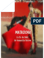 MATADORA - Samantha BAires Fanfiction Maca Esther