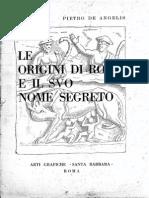 Rome Original Name