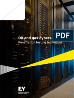 EY-O&G Cybersecurity-penetration Testing Techniques
