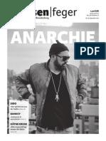 Anarchie - Ausgabe 18-2015 des strassenfeger