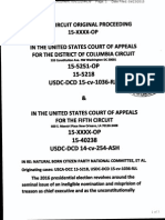 USCA5C Doc 15-41276 in Re Natural Born Citizen Party National Committee Petition for Mandamus