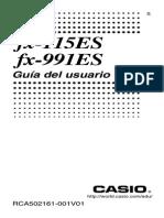 Manual FX-991ES 13