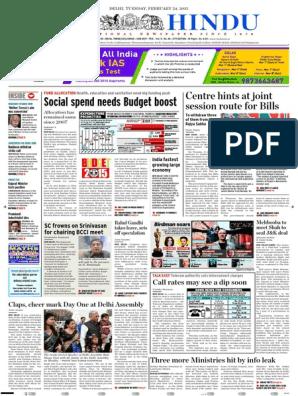 24 02 2015 | Politics Of India