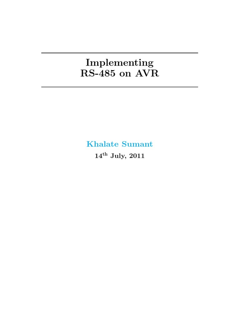 1326555919 22364 Ft52908 Sumant Khalateimplementing Rs458 On Avr Ac Motor Control Circuits Plcdoc Online Shop Computer Engineering Electrical